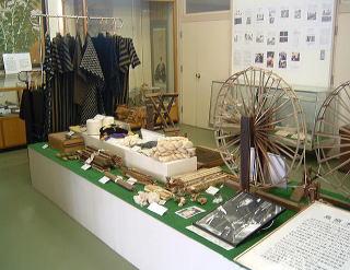 島原木綿の道具