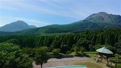 舞岳山荘からの眺め(南方向)