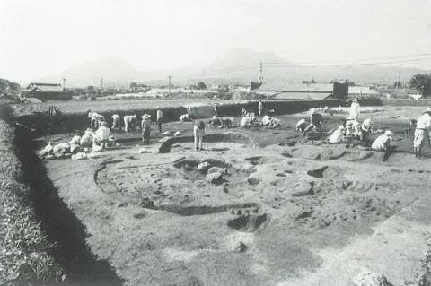 一野遺跡発掘調査