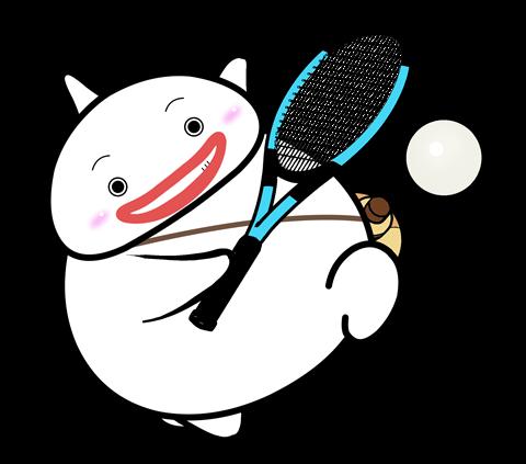 54.テニスポーズ2
