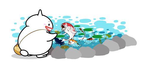鯉としまばらん