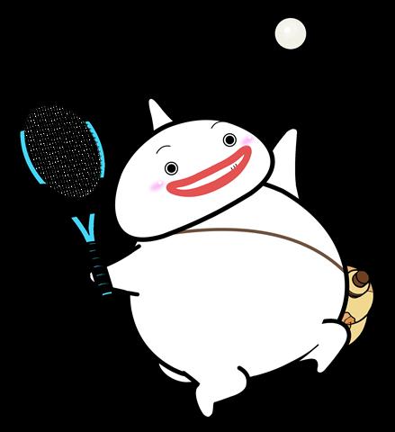55.テニスポーズ3