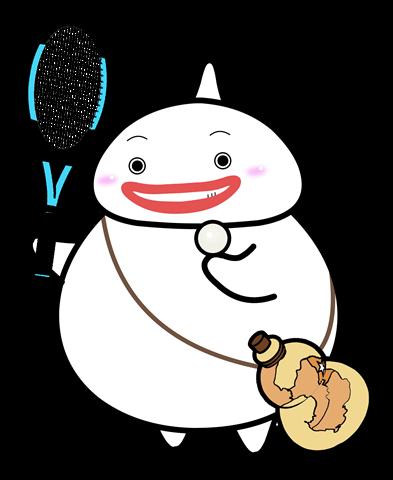 56.テニスポーズ4
