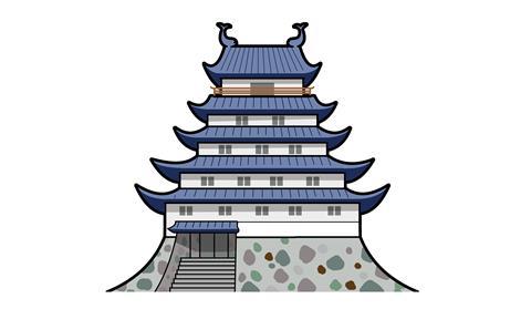 46.島原城(お城のみ)
