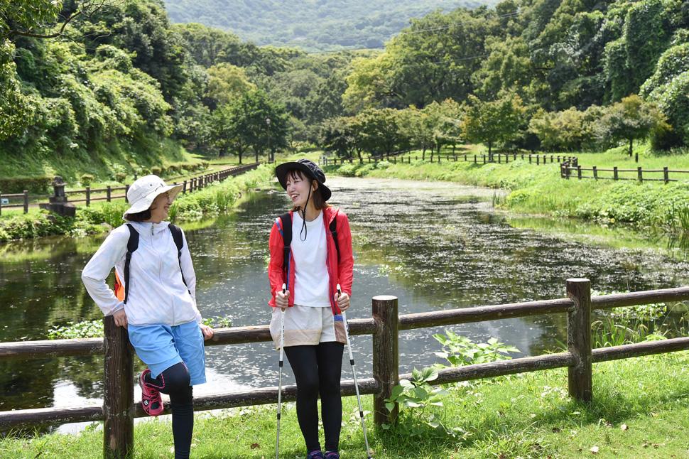 九州オルレ島原コース_ひょうたん池公園(フィニッシュ) (8)
